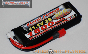 Sonic Power 1800mah 11.1V 30C Lithium Polymer Battery Pack