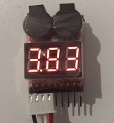 Lipo Voltage Monitor, Low Voltage Alarm