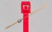 "Zip Tie/Cable Tie 4"" Fluorescent Pink"