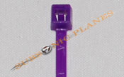 "Zip Tie/Cable Tie 4"" Purple"