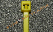 "Zip Tie/Cable Tie 4"" Yellow"