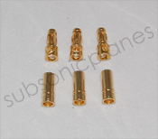 Motrolfly 4.0mm Gold Connectors
