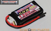 Glacier 1300mah 11.1V 30C Lithium Polymer Battery Pack