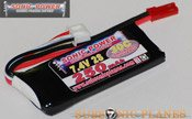 Sonic Power 250mah 7.4V 30C Lithium Polymer Battery Pack