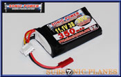Sonic Power 350mah 11.1V 30C Lithium Polymer Battery Pack