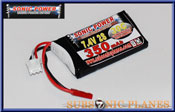 Sonic Power 350mah 7.4V 30C Lithium Polymer Battery Pack