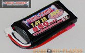 Sonic Power 850mah 7.4V 30C Lithium Polymer Battery Pack