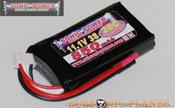 Sonic Power 850mah 11.1V 30C Lithium Polymer Battery Pack