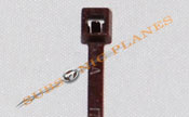 "Zip Tie/Cable Tie 4"" Brown"