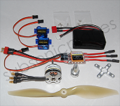 YardBird RC Electronic Parts