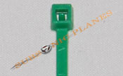 "Zip Tie/Cable Tie 4"" Green"