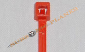 "Zip Tie/Cable Tie 4"" Orange"