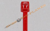 "Zip Tie/Cable Tie 4"" Red"